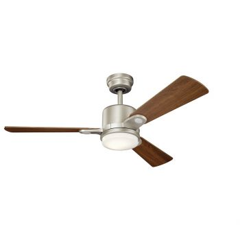 "Kichler Celino 48"" LED Ceiling Fan in Brushed Nickel"