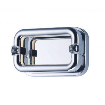 "Maxim Lighting Kartier 7.5"" Bath Vanity in Polished Chrome"