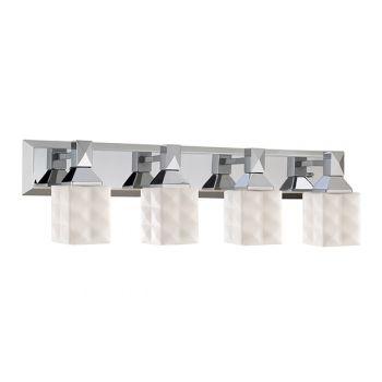 Millennium Lighting 300 Series 4-Light Bath Vanity in Chrome