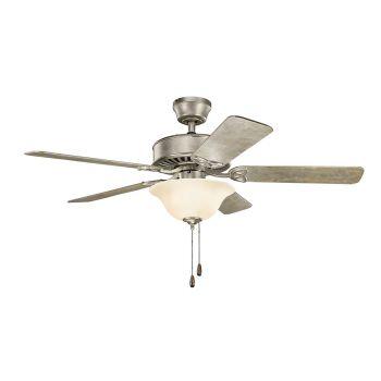 """Kichler Renew Select 50"""" Ceiling Fan in Sterling Gold"""