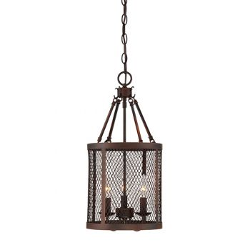 Millennium Lighting Akron 3-Light Pendant in Rubbed Bronze
