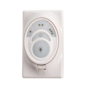 Kichler Fan Accessory Basic CoolTouch Transmitter in White Material (Not Painted)