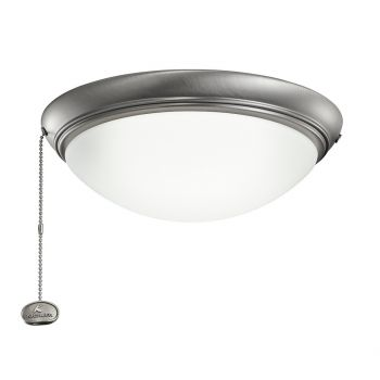 Kichler Accessories Low Profile LED Ceiling Fan Light Kit in Antique Pewter