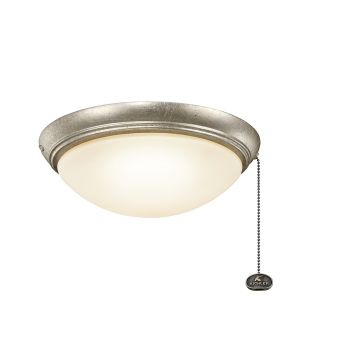 Kichler Accessories Low Profile LED Ceiling Fan Light Kit in Sterling Gold
