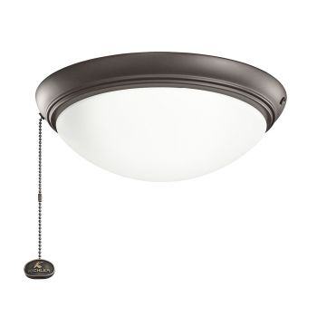 Kichler Accessory Fan Light-Kit in Satin Natural Bronze