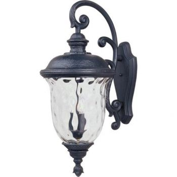 Maxim Lighting Carriage House DC 3-Light Outdoor Wall Lantern in Oriental Bronze