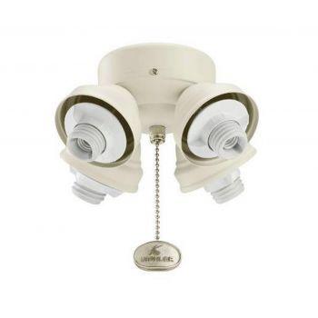 Kichler Turtle 4-Light Fan Fitter in White
