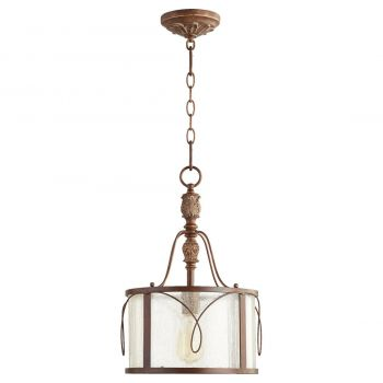 "Quorum Salento 11.5"" Pendant in Vintage Copper"