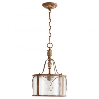"Quorum Salento 11.5"" Pendant in French Umber"