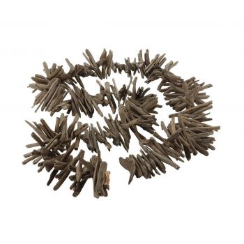 Dimond Home Driftwood Garland in Charcoal Gray