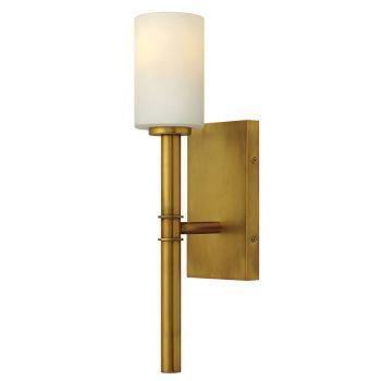 Hinkley Margeaux 1-Light Sconce in Vintage Brass