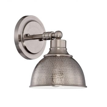 "Craftmade Timarron 10"" Wall Sconce in Antique Nickel"