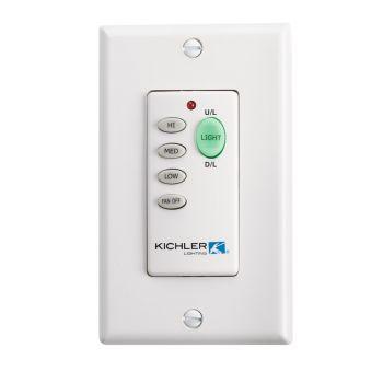 Kichler Fan Accessory Wall Transmitter L-Function in Multiple