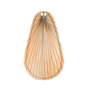 Kichler Fan Accessory Natural Palm Blade Set in Natural