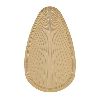 Kichler Fan Accessory Climates ABS Palm Blade in Natural