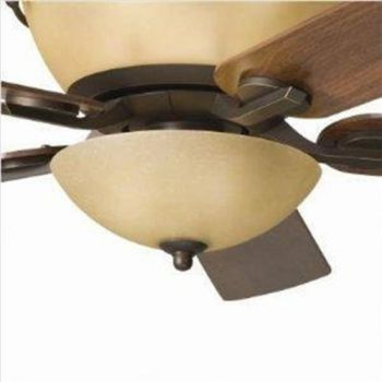 Kichler Olympia 3-Light Bowl Fan Light Kit in Antique Pewter