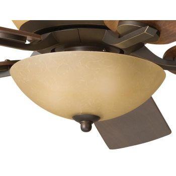 Kichler Olympia 3-Light Bowl Fan Light Kit in Olde Bronze