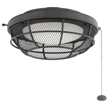 Kichler LED Industrial Mesh Light Kit in Distressed Black