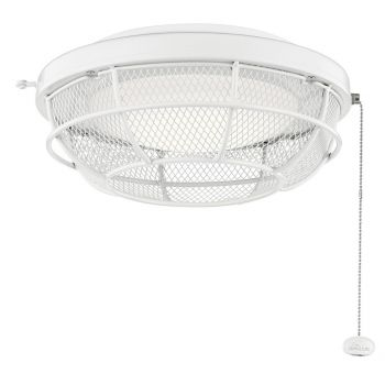 Kichler LED Industrial Mesh Light Kit in White