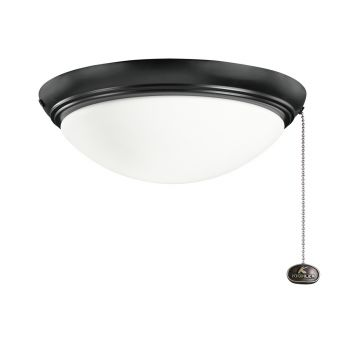 Kichler Accessories Low Profile Large Light Kit in Satin Black