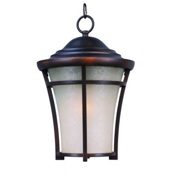 "Maxim Balboa DC 17.25"" Outdoor Lace Hanging Lantern in Copper Oxide"