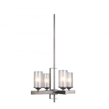 Craftmade Mod 4-Light Chandelier in Natural Iron/Vintage Iron
