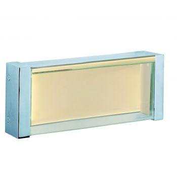 "Maxim Lighting Vista 10.25"" Clear Bath Vanity in Polished Chrome"