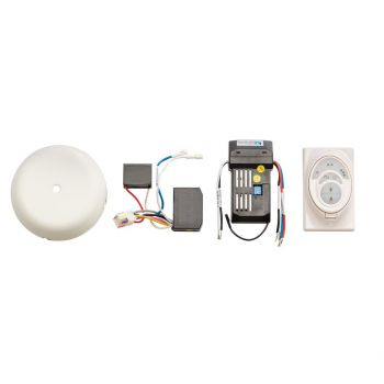 Kichler CoolTouch Ceiling Fan Control System R400 in Satin Natural White