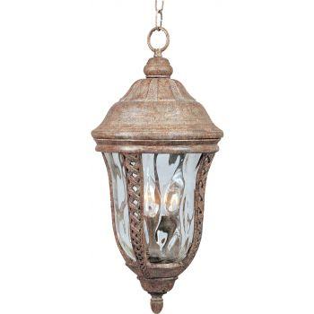 "Maxim Lighting Whittier VX 3-Lt 21"" Outdoor Hanging Lt,Copper"