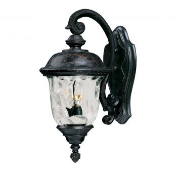 Maxim Carriage House 2-Light Outdoor Wall Mount in Oriental Bronze