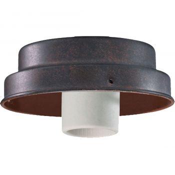 "Quorum Kit 4.25"" Patio Ceiling Fan Light Kit in Toasted Sienna"