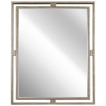 Kichler Hendrik Mirror in Sterling Gold
