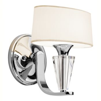 Kichler Crystal Persuasion Wall Sconce in Chrome