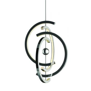 "Craftmade Anello 21"" 4-Light LED Pendant in Chrome"