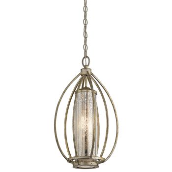 Kichler Savanna Pendant in Sterling Gold
