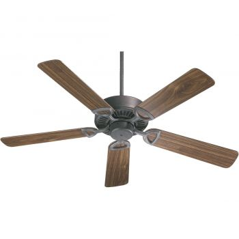 "Quorum Estate 52"" 5-Blade Indoor Ceiling Fan in Toasted Sienna"