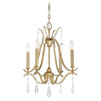 Minka Lavery Laurel Estate 4-Light Chandelier in Brio Gold