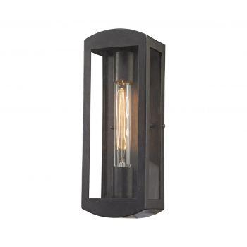 """ELK Trenton 13"""" Outdoor Wall Light in Blackened Bronze"""