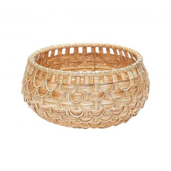 ELK Medium Fish Scale Basket In Natural in Natural