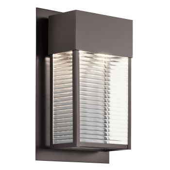 Kichler Sorel LED XLarge Outdoor Wall in Architectural Bronze