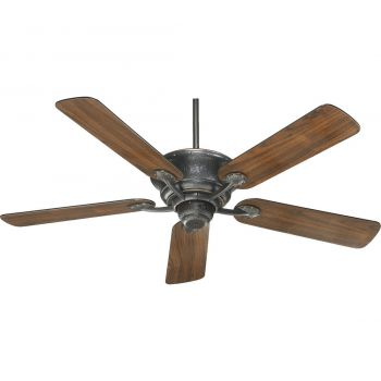 """Quorum Liberty 52"""" 5-Blade Ceiling Fan in Old World"""