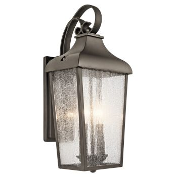 Kichler Forestdale 2-Light Medium Outdoor Wall Lantern in Olde Bronze
