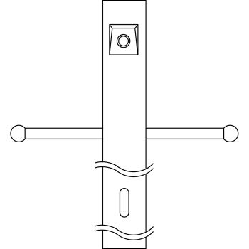 Kichler Accessory Post w/Photocell & Ladder in Architectural Bronze