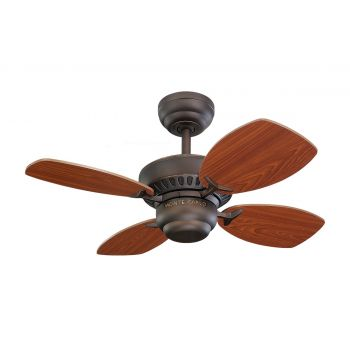 "Monte Carlo 28"" Colony II Ceiling Fan in Roman Bronze"