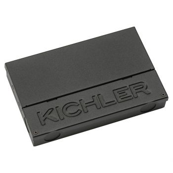 "Kichler 7.25"" LED 60W Dimmable Power Supply in Textured Black"