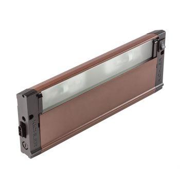 """Kichler Harmonization 12"""" 120V 2-Light Under Cabinet in Bronze Textured"""