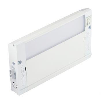 """Kichler 4U Series LED 8"""" 3000K Under Cabinet in Textured White"""