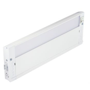 """Kichler 4U Series LED 12"""" 3000K Under Cabinet in Textured White"""