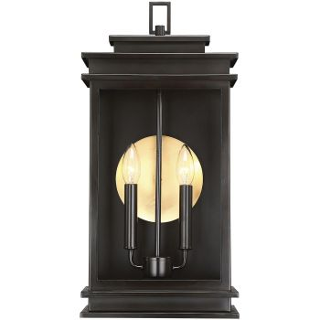 "Savoy House Reading 20"" 2-Light Outdoor Wall Lantern in English Bronze"