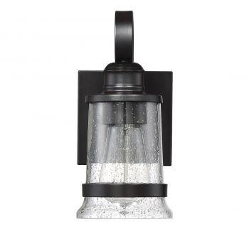 "Savoy House Winston 7.5"" Outdoor Wall Lantern in English Bronze"